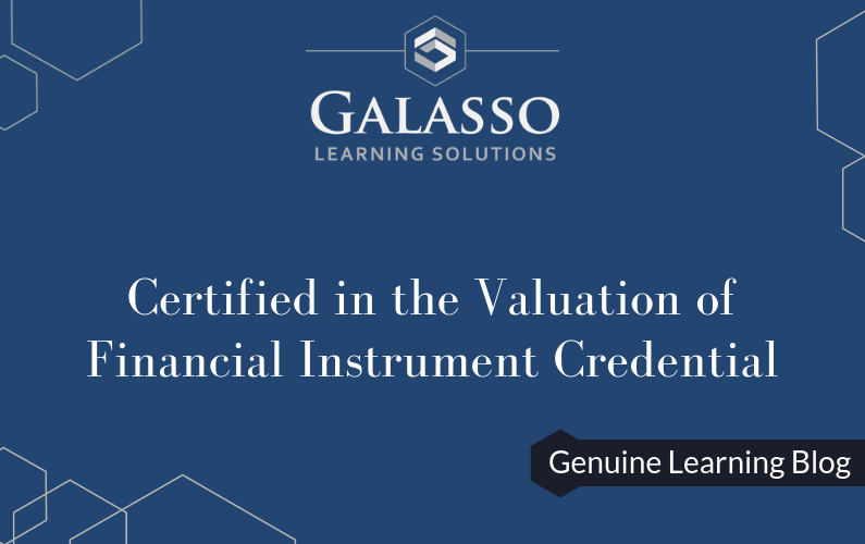 Certified in the Valuation of Financial Instrument Credential