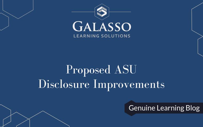 Proposed ASU: Disclosure Requirements