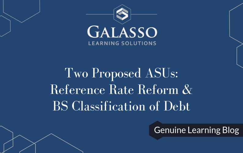 Reference Rate Reform & Balance Sheet Classification of Debt