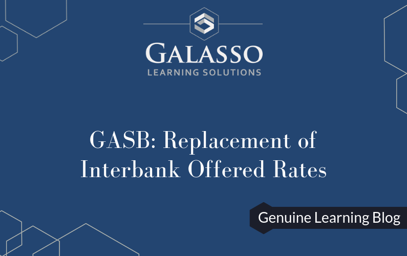 GASB: Replacement of Interbank Offered Rates