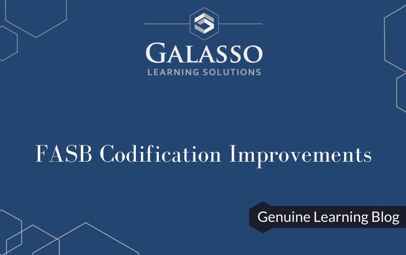 FASB Codification Improvements