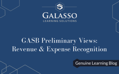 GASB Preliminary Views: Revenue and Expense Recognition