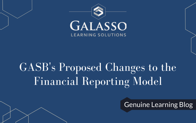 GASB's Proposed Changes to the Financial Reporting Model