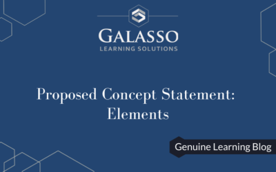 Proposed Concept Statement: Elements