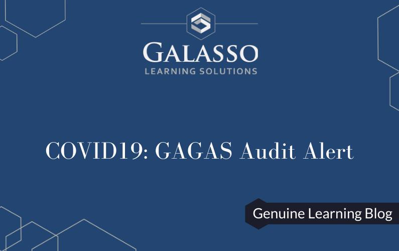 COVID19: GAGAS Audit Alert