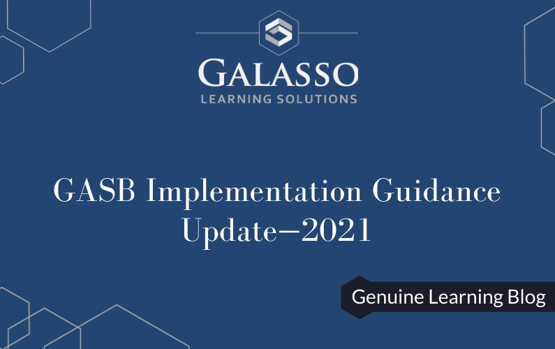 GASB Implementation Guidance Update—2021