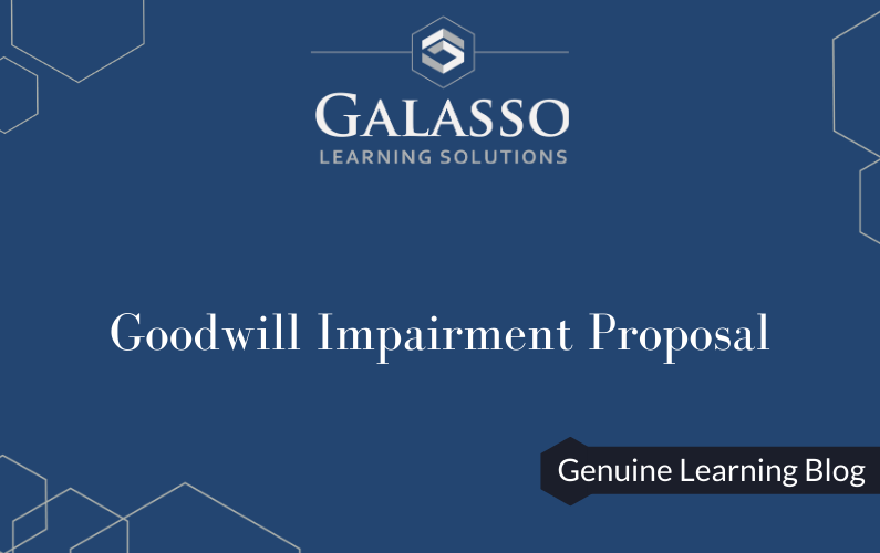 Goodwill Impairment Proposal