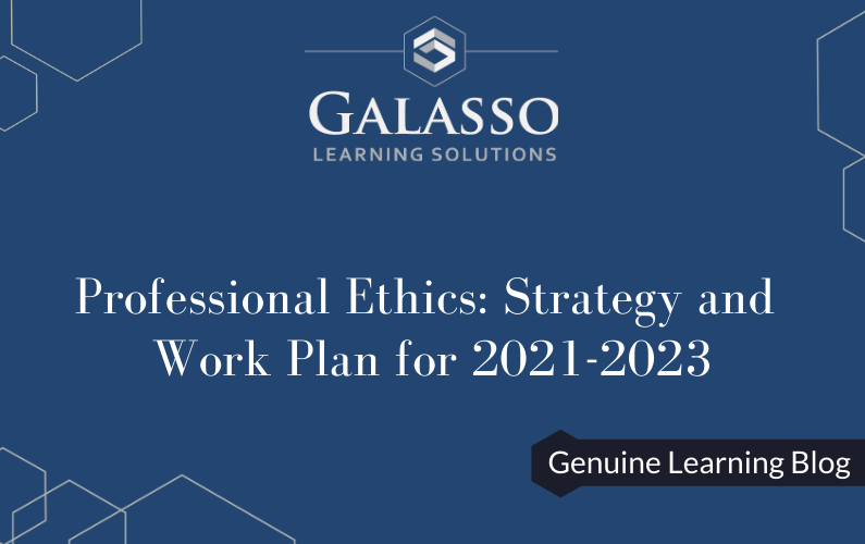 Professional Ethics: Strategy and Work Plan for 2021-2023