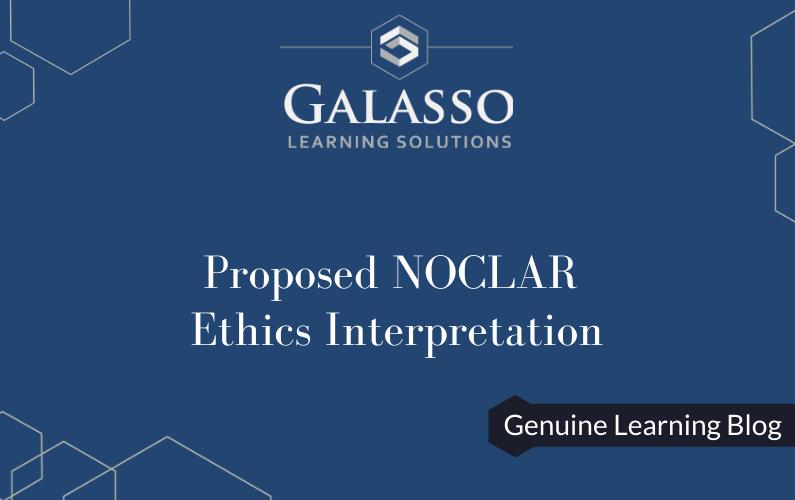 Proposed NOCLAR Ethics Interpretation