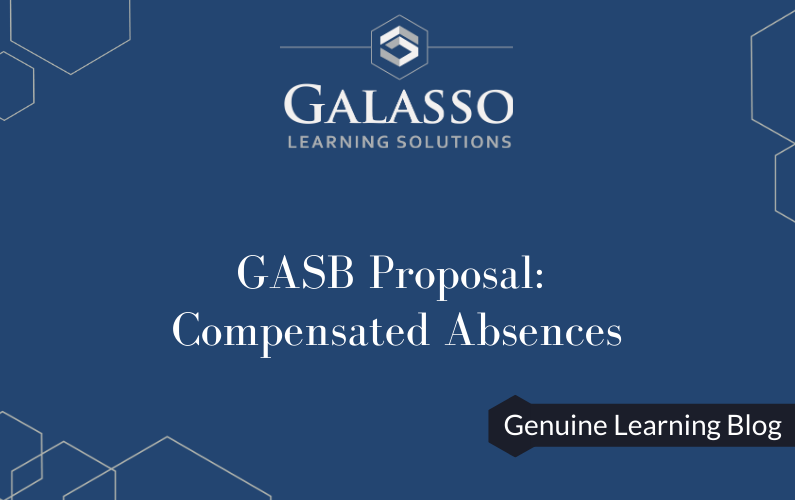 GASB Proposal: Compensated Absences