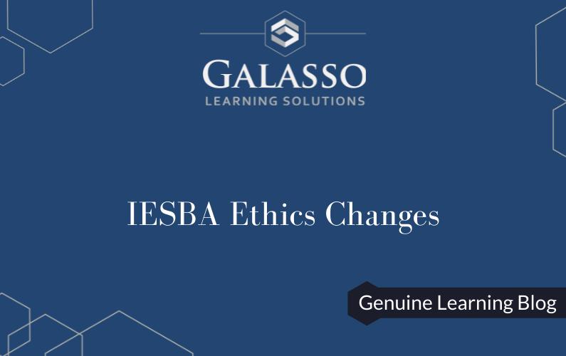 IESBA Ethics Changes