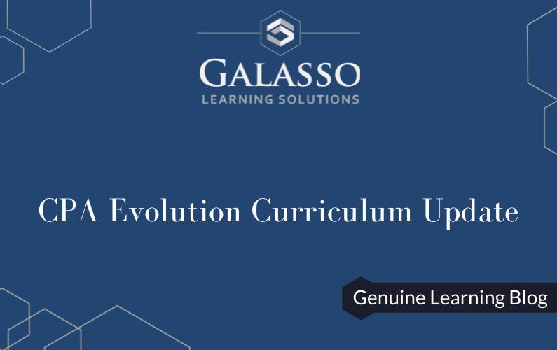 CPA Evolution Curriculum Update