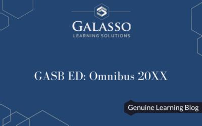 GASB ED: Omnibus 20XX