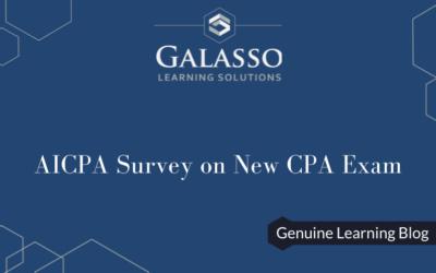 AICPA Survey on New CPA Exam
