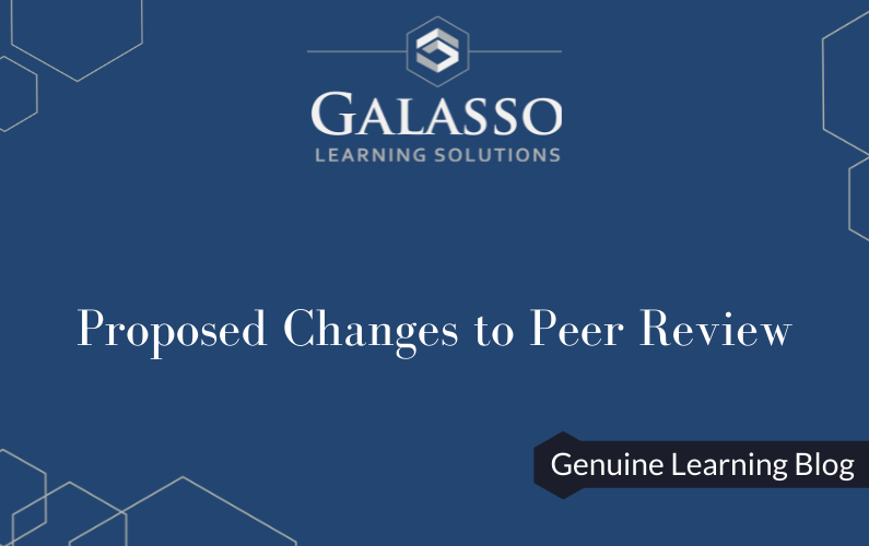 Proposed Changes to Peer Review