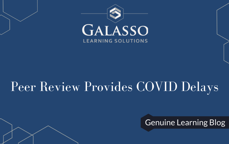 Peer Review Provides COVID Delays