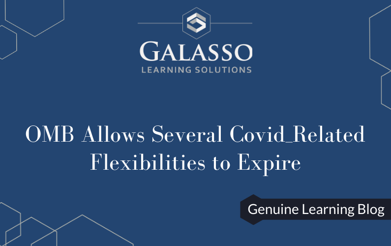 OMB Allows Several Covid_Related Flexibilities to Expire