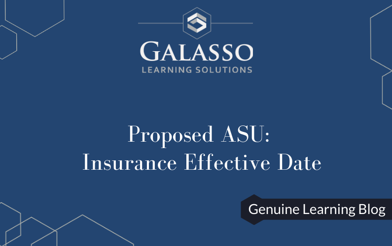 Proposed ASU: Insurance Effective Date