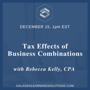 Tax Effects of Business Combinations