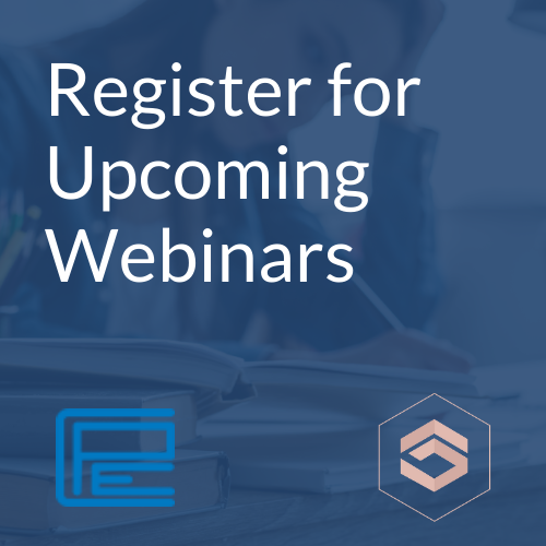 Register for Upcoming Webinars